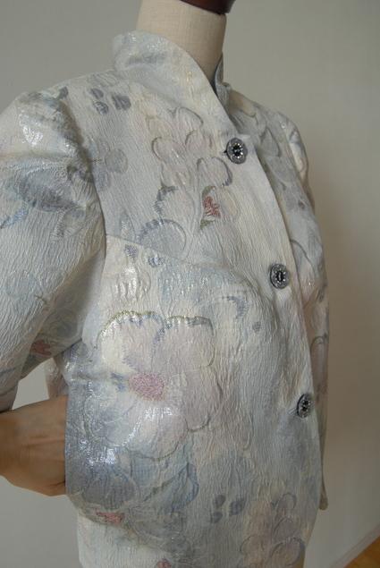 着物リメイク・帯で作ったジャケット_d0127925_22502597.jpg