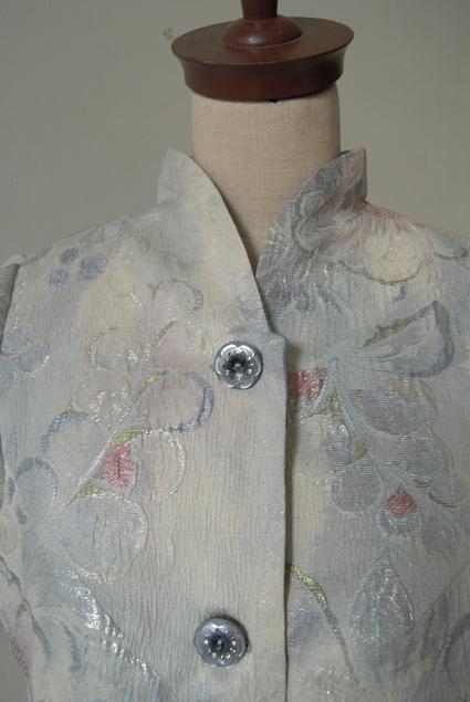 着物リメイク・帯で作ったジャケット_d0127925_22505080.jpg