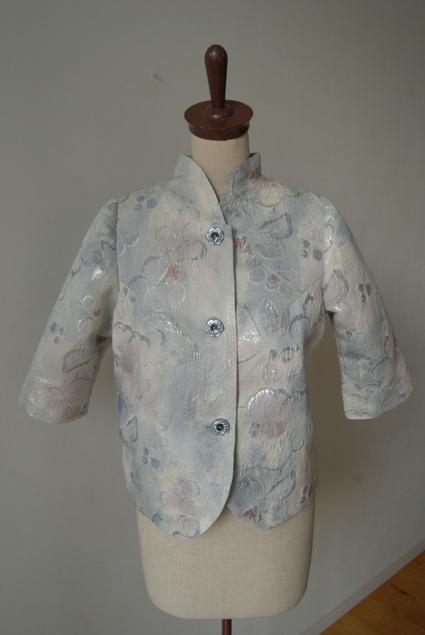 着物リメイク・帯で作ったジャケット_d0127925_22512094.jpg