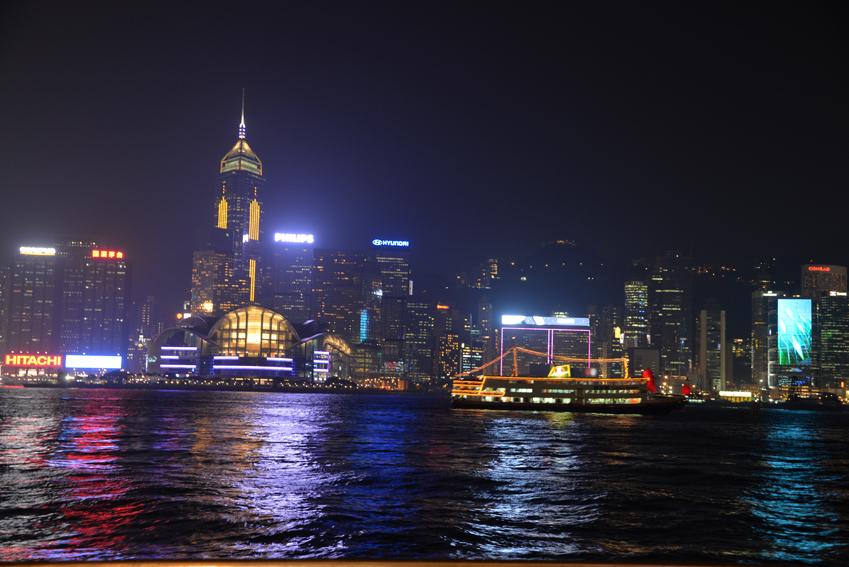 香港チムサーチョイの夜景バーAqua_a0175348_913967.jpg