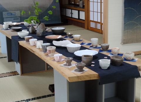 桜の季節展示会_a0233551_19533957.jpg