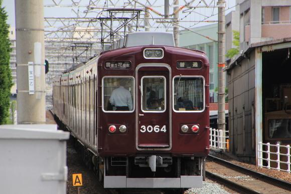 阪急3064F! 十三駅にて!_d0202264_7274014.jpg