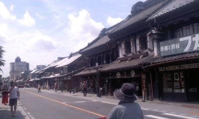 ** 川越の街、ちょっとお散歩 **_d0147488_20304694.jpg