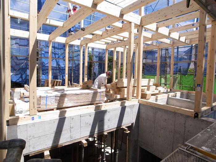 地下室のある調布の家の建て方_f0223603_2045539.jpg