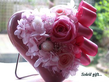 優しさ伝える☆桜色の母の日ギフトアレンジ♡_c0098807_21523983.jpg
