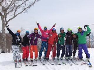 まだまだ春スキー!_c0087410_11225041.jpg