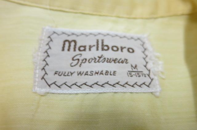 5月3日(土)入荷! 50'S マルボロスポーツウェア シャツ!_c0144020_13504725.jpg
