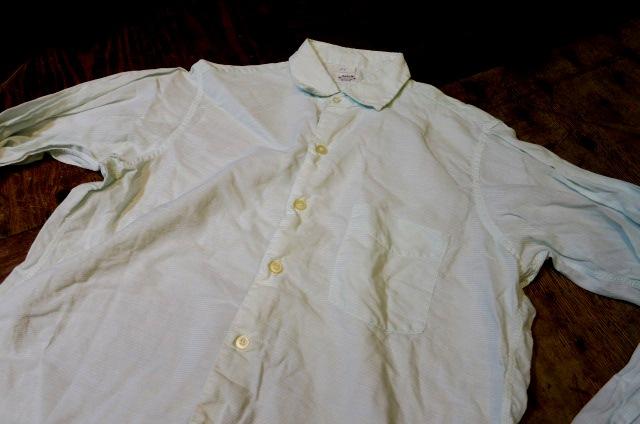 5月3日(土)入荷!50'S ARROW ボーダーシャツ!マチ付き_c0144020_156521.jpg