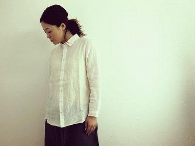 5/2 ichiリネン ホワイトシャツ入荷_f0325437_13555455.jpg
