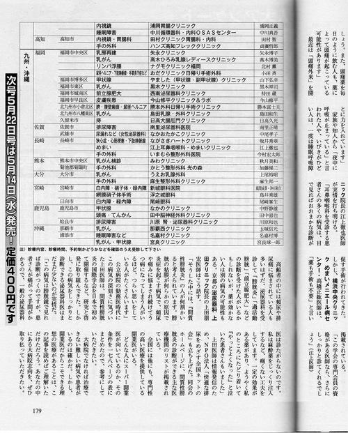 スーパー開業医by週刊文春。_e0271258_8395812.jpg