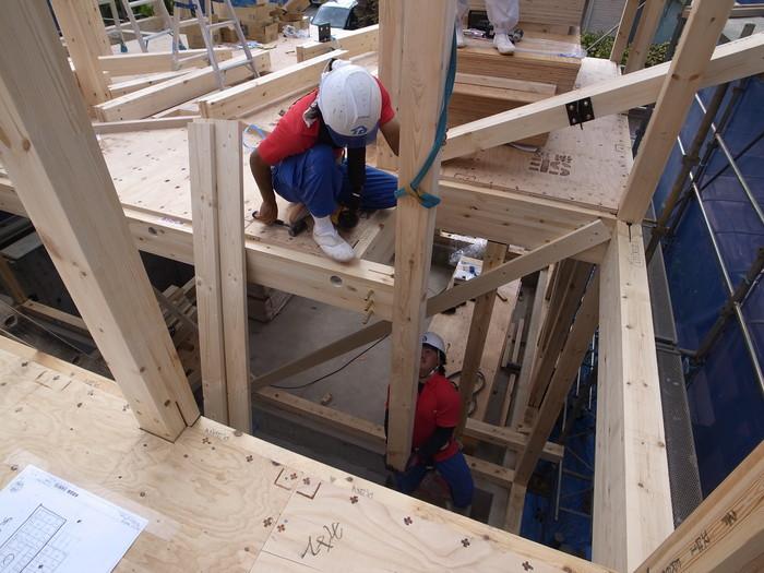 地下室のある調布の家の建て方_f0223603_8532523.jpg