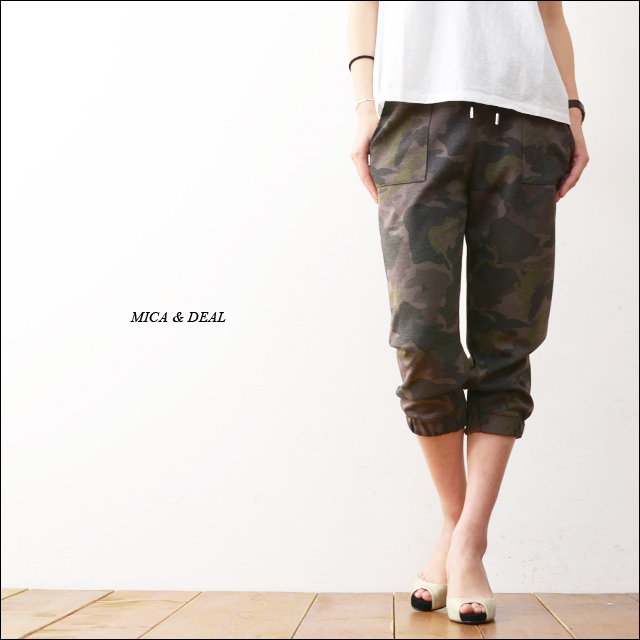 MICA&DEAL [マイカアンドディール] オリジナル迷彩ポンチパンツ [M14B044] LADY\'S_f0051306_21463521.jpg