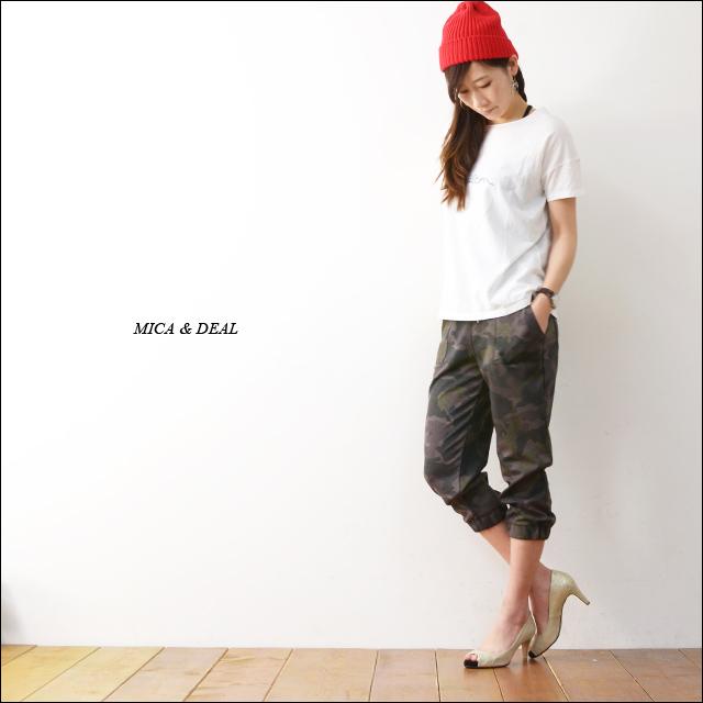MICA&DEAL [マイカアンドディール] オリジナル迷彩ポンチパンツ [M14B044] LADY\'S_f0051306_21464155.jpg