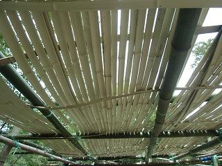 あずまやの屋根_d0180132_1933581.jpg