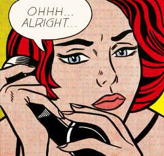 「 Roy Lichtenstein? 」_c0078333_23322378.jpg