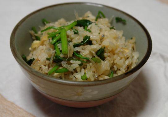 セリご飯&加賀野菜_f0191248_5342829.jpg