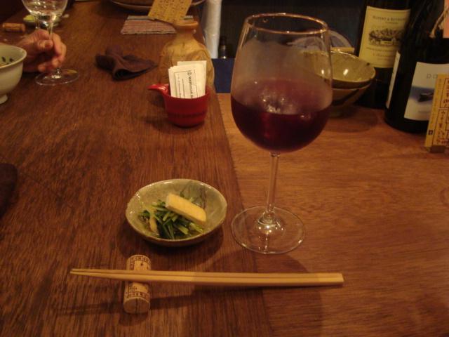 新井薬師「ワインとお惣菜 青花」へ行く。_f0232060_13374347.jpg