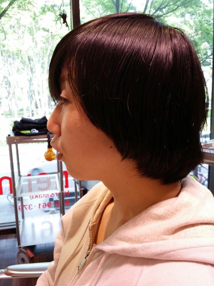 黒髪ショート!!_a0272765_2028721.jpg