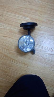 「究極のエコ自転車ライトの完成」:電動アシスト自転車ライトをソーラーライトに改善!_e0171614_1547523.jpg