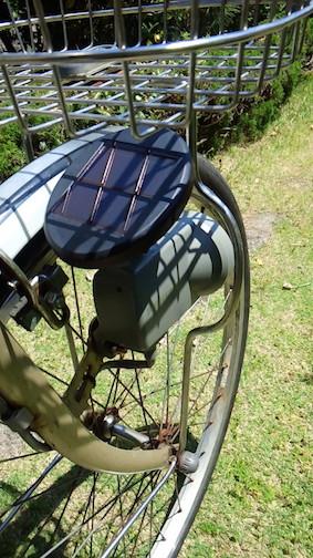 「究極のエコ自転車ライトの完成」:電動アシスト自転車ライトをソーラーライトに改善!_e0171614_15505918.jpg