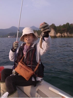 夫と釣りに行き_c0116915_012882.jpg