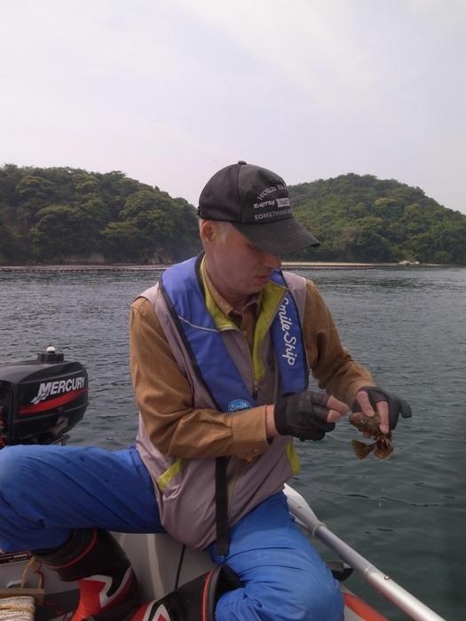 夫と釣りに行き_c0116915_0181339.jpg
