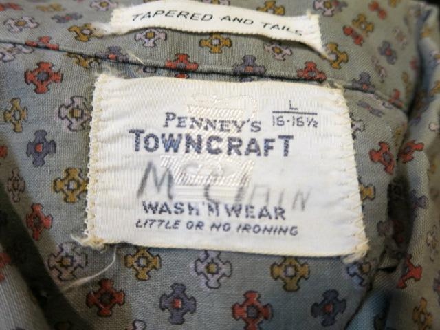 5/5(月)入荷!PENNY'S TOWN CRAFT プルオーバー小紋柄シャツ!_c0144020_19465418.jpg