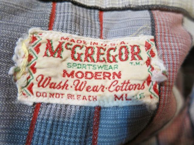 5/5(月)入荷!60'S マクレガーボーダーシャツ!_c0144020_19483252.jpg