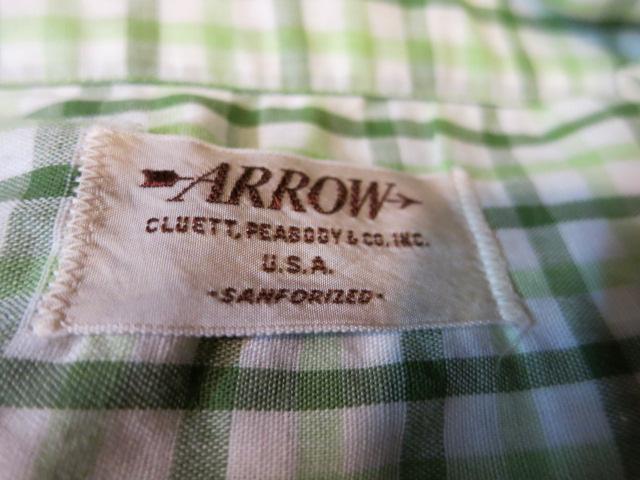 5/5(月)入荷!60'S ARROWシャツ!_c0144020_19513890.jpg