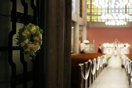 手作りのブーケと、教会の装花 東京女子大学とクレッセント様へ_a0042928_22303931.jpg