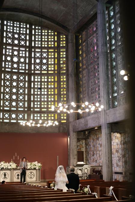手作りのブーケと、教会の装花 東京女子大学とクレッセント様へ_a0042928_2240313.jpg
