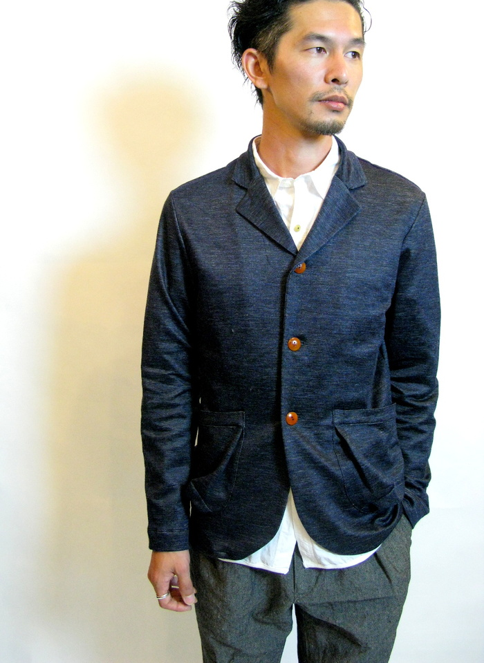 ◆Knit Made 3B Ramie Jacket_e0142928_2255167.jpg