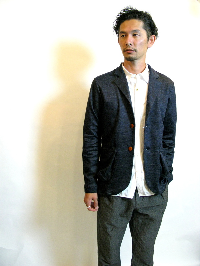 ◆Knit Made 3B Ramie Jacket_e0142928_22553366.jpg