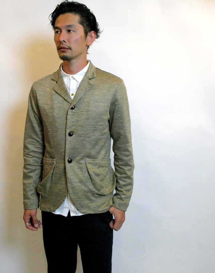 ◆Knit Made 3B Ramie Jacket_e0142928_22563314.jpg