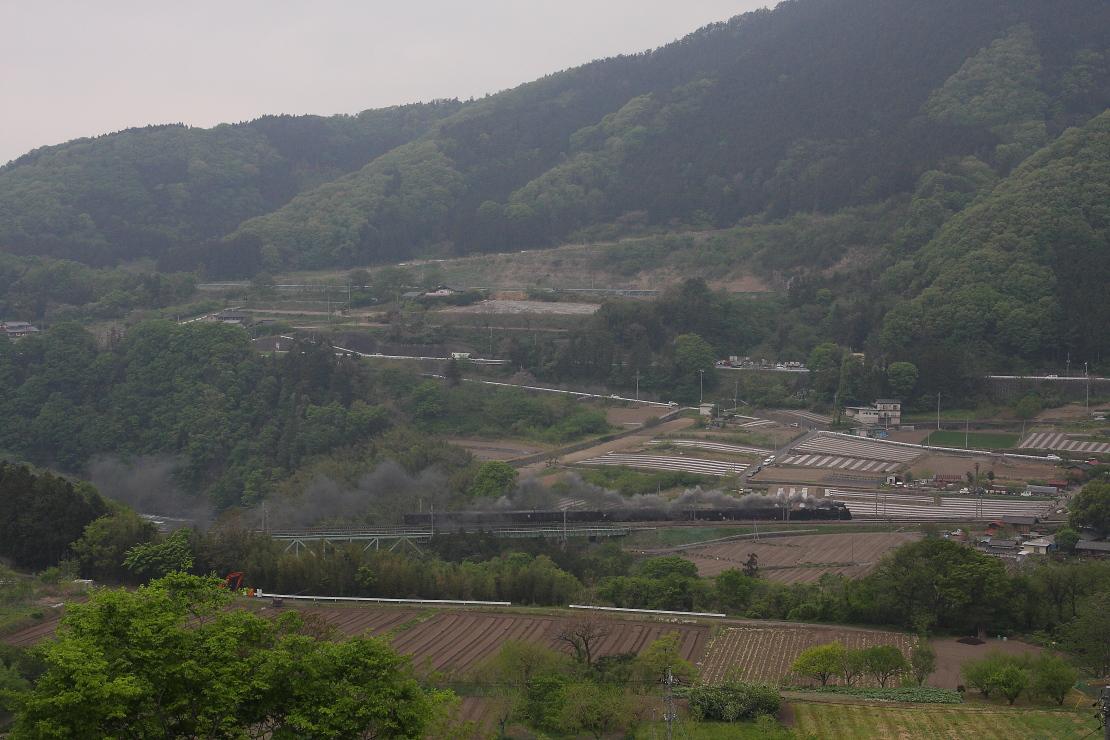 D51と旧型客車が津久田鉄橋を渡る - 2014年新緑・上越旧客 -  _b0190710_1939587.jpg
