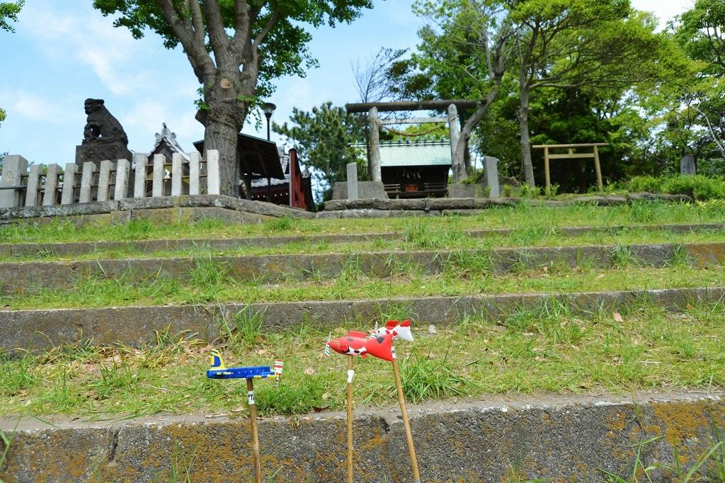 葉山芸術祭 森山神社_d0065116_21351972.jpg