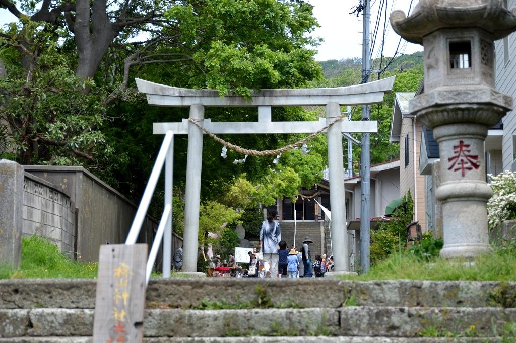葉山芸術祭 森山神社_d0065116_2140313.jpg