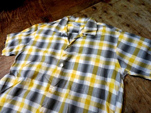 5/6(火)入荷!50'S Truval オープンカラーシャツ!_c0144020_16475351.jpg