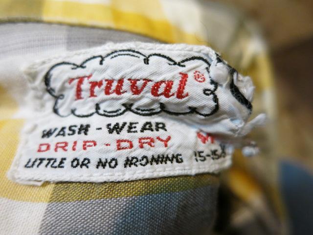 5/6(火)入荷!50'S Truval オープンカラーシャツ!_c0144020_1647557.jpg