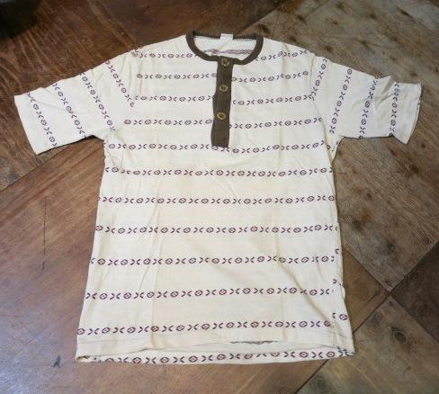 5/6(火)入荷!モンゴメリーワード ヘンリーネックジャガードTシャツ!_c0144020_1651484.jpg