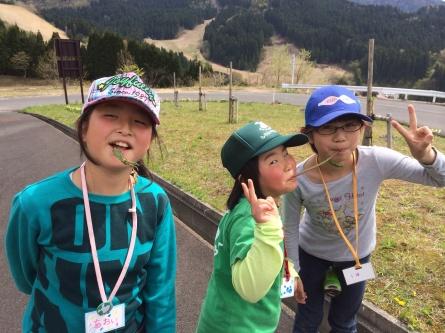 GWキャンプ二日目【山菜採り】_f0101226_06550860.jpg