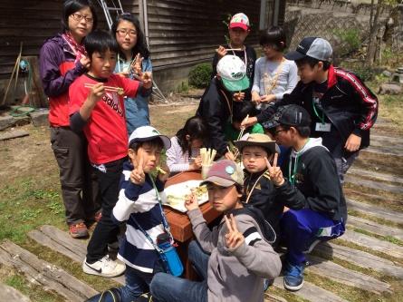 GWキャンプ二日目【山菜採り】_f0101226_07174584.jpg