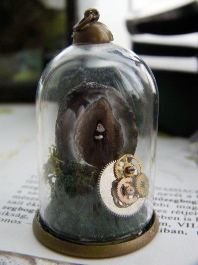 鉱物ガラスドーム(大)4点_f0280238_20443005.jpg