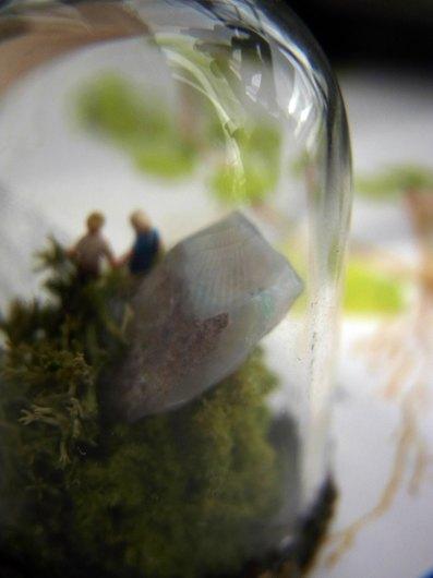 鉱物ガラスドーム(大)4点_f0280238_20445616.jpg