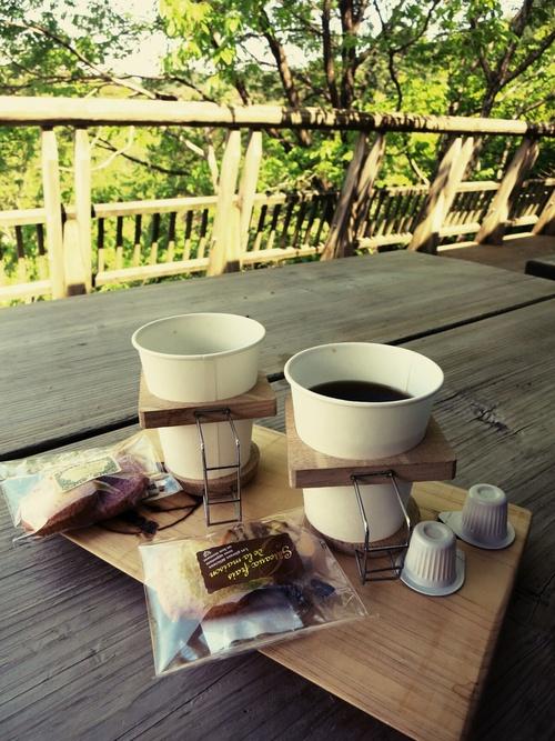GW限定『森のカフェ』で至福の一杯♥_f0236260_056259.jpg