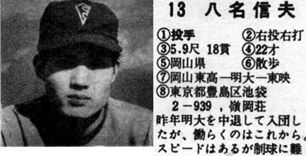 八名信夫「50年ぶりのマウンド」...