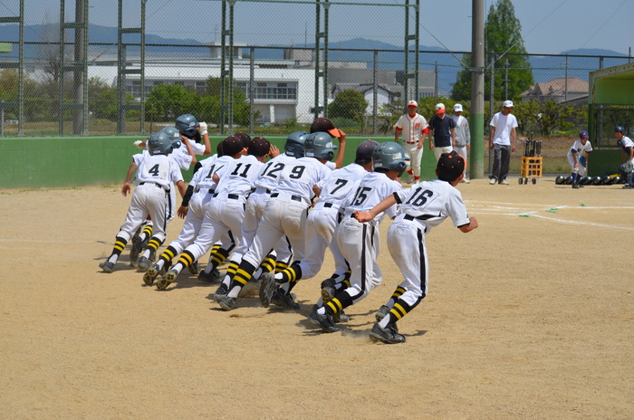 Bチーム 5/4(日) 8チーム合同練習試合_b0296154_2221749.jpg
