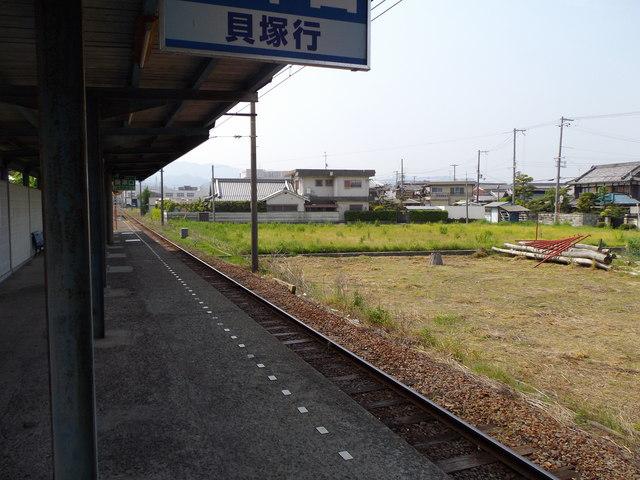 水間鉄道 「森」 駅_c0001670_16344071.jpg