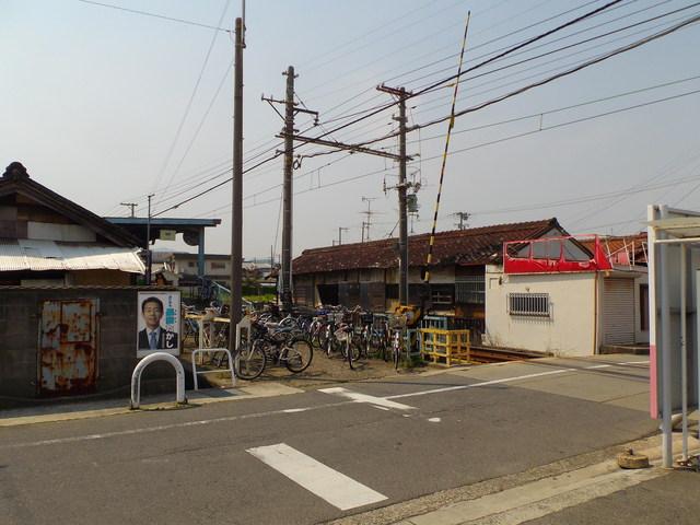 水間鉄道 「森」 駅_c0001670_16345624.jpg