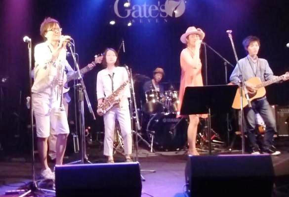 2014年5月4日、カラフルどんたくライブ@Gate\'7、第1部のライブレポ♪_e0188087_144576.jpg